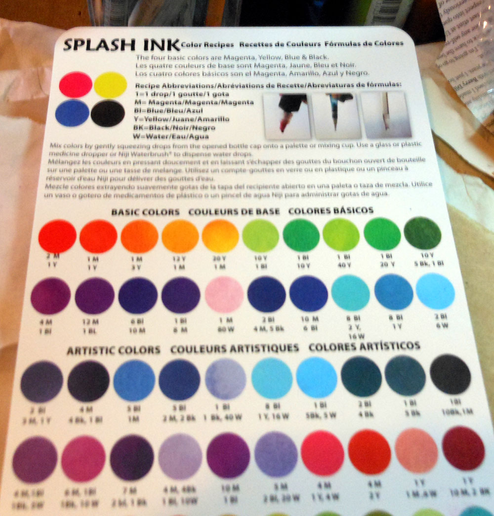 Splash inks niji creative collective niji spet splash ink color chart nvjuhfo Choice Image