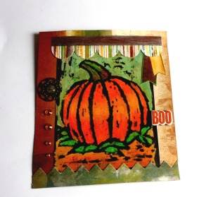 Beautiful Fall Art can be designed easily with Niji Oil Pastels.