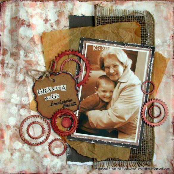 Grandma hugs Niji